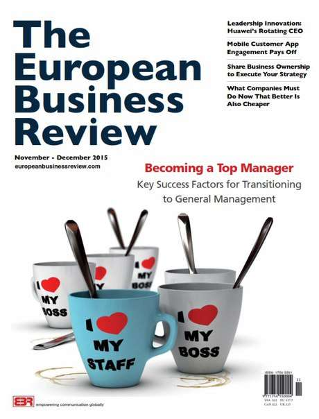 The European Business Review – December 2015
