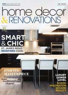 Manitoba Home Decor & Renovations – February/March 2015