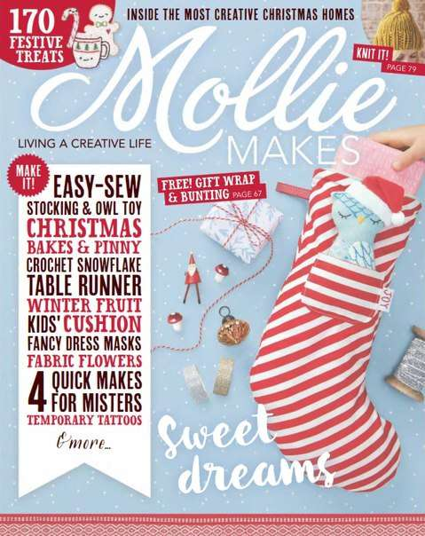 Mollie Makes Issue Sixty – 2015 UK