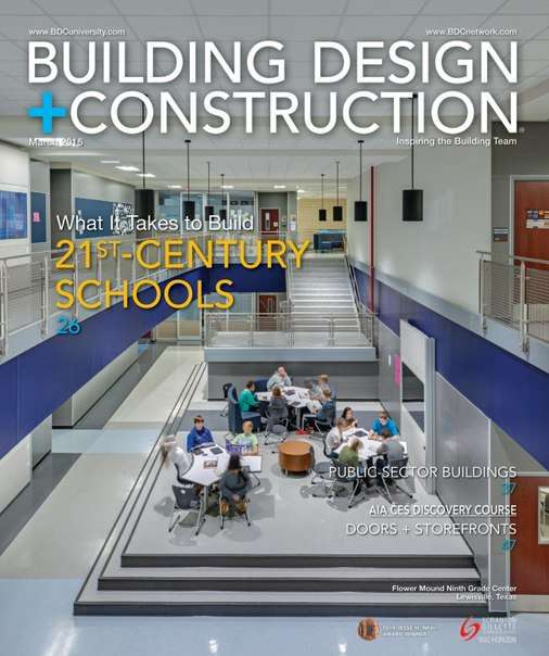 Building Design + Construction – May 2015