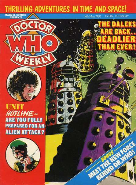 Doctor Who Weekly – Issue 031 (1980)