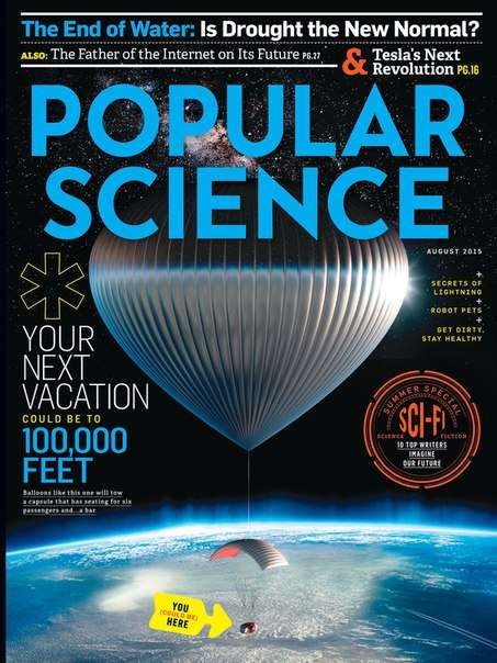 Popular Science USA – August 2015
