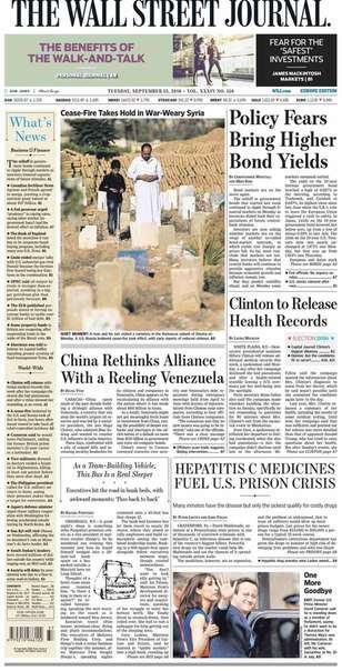 The Wall Street Journal Europe (September 13 2016)