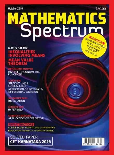 Spectrum Mathematics – October 2016