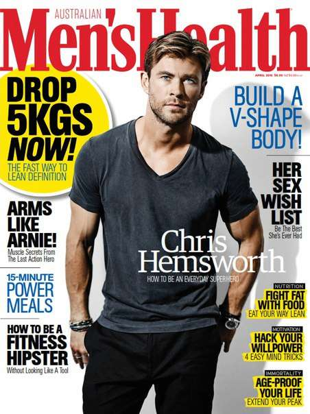 Men s Health Australia – April 2016