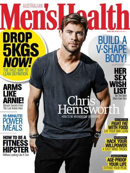 Men s Health Australia – April 2016
