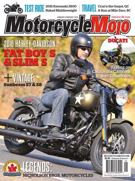 Motorcycle Mojo – February 2016 CA
