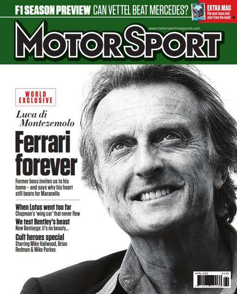 Motor Sport Magazine April 2016