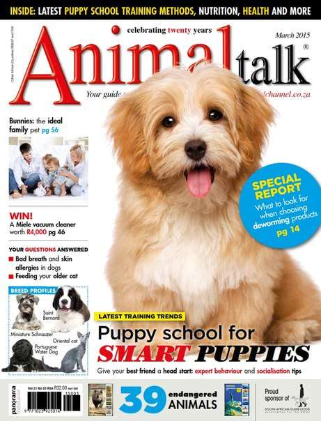 Animal Talk – March 2015