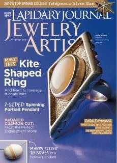 Lapidary Journal Jewelry Artist – December 2015