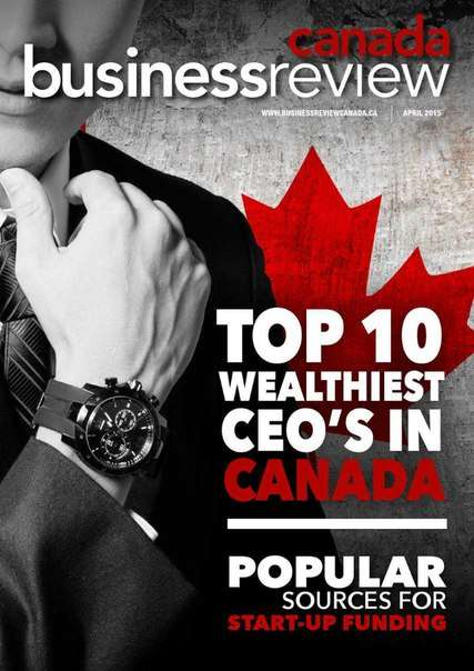 Business Review Canada – April 2015