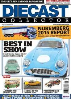 Diecast Collector, Issue 210 – April 2015