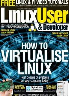 Linux User & Developer Issue 155 – 2015 UK