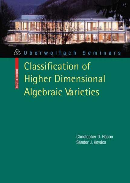 Classifficaton of higher dimensional algebraic.