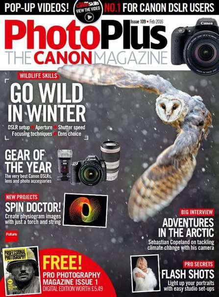 PhotoPlus The Canon Magazine – February 2016