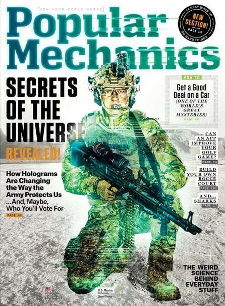 Popular Mechanics – August 2015 USA