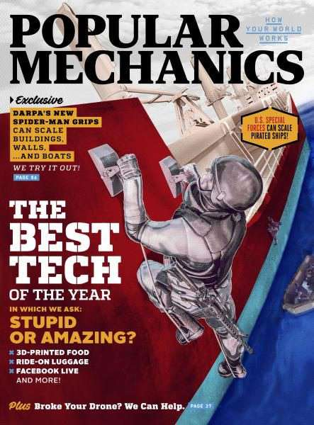Popular Mechanics USA – December 2016 – January 2017