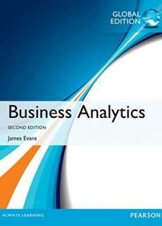 Business Analytics (2nd Global Edition 2017) by James R