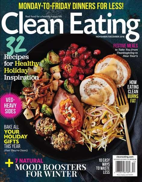 Clean Eating – November-December 2016