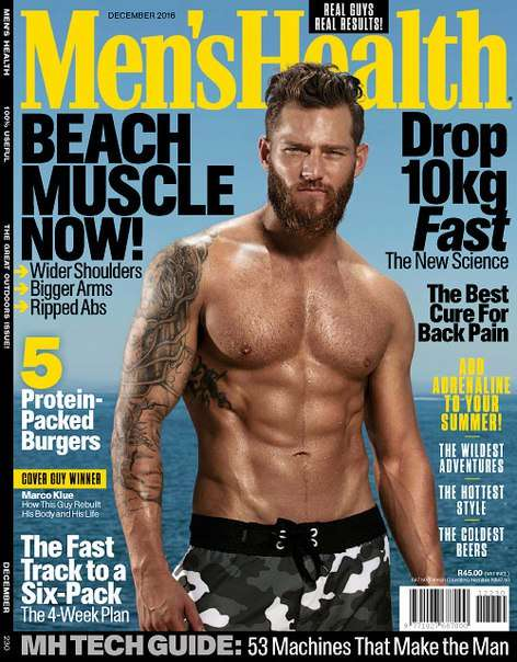Men's Health South Africa – December 2016