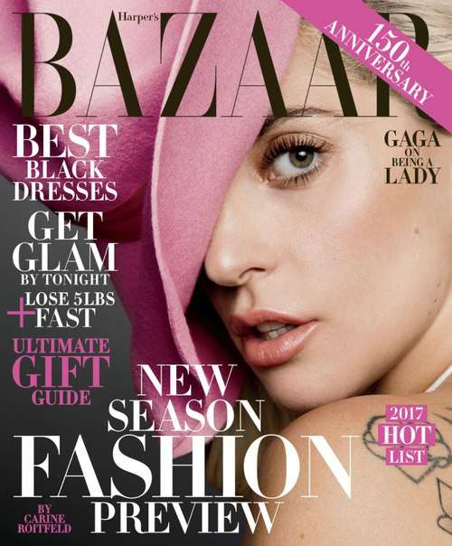 Harper's Bazaar USA – December 2016 – January 2017