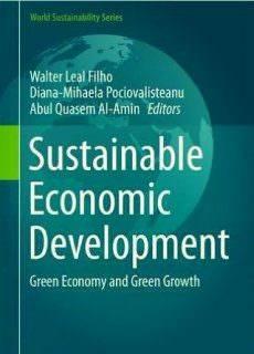 Sustainable Economic Development: Green Economy and Green Growth (2017)