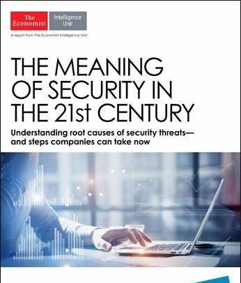 The Economist (Intelligence Unit) – The Meaning of Security in the 21st Century (2017)