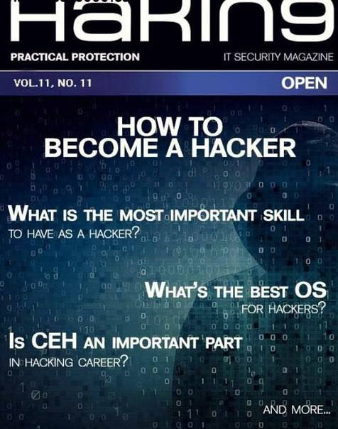 Hakin9 Open – Vol11, No.11 2016 (How To Become A Hacker)