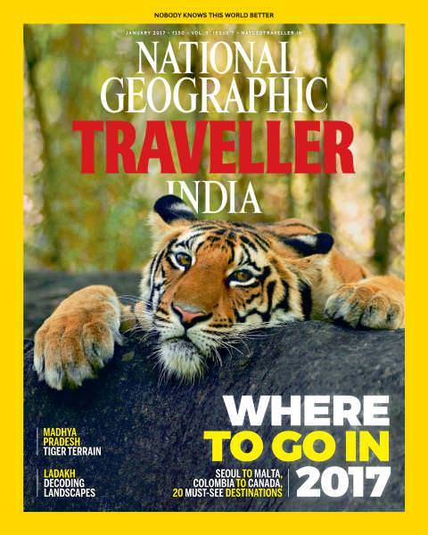 National Geographic Traveller India-January 2017 №11449