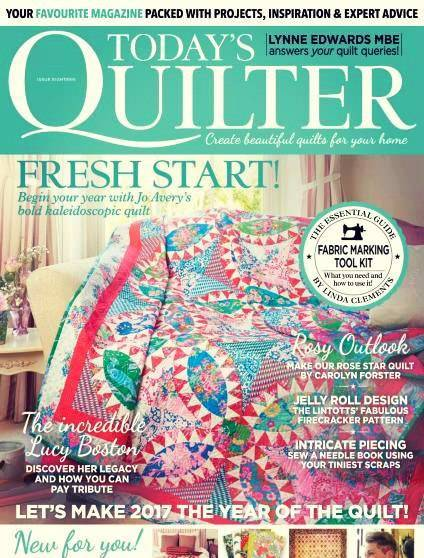 Today's Quilter – Issue 18 2017