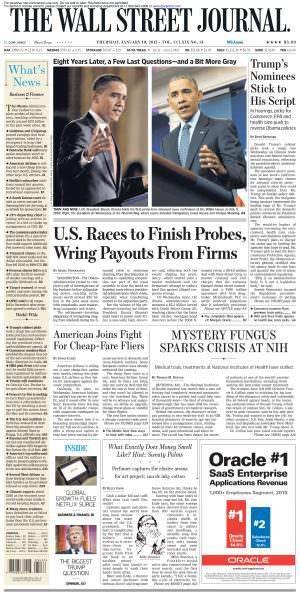 The Wall Street Journal (Jan 2017)