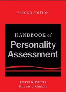 Handbook of Personality Assessment, 2nd Edition February 2017