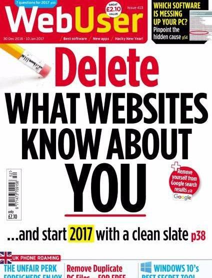 WebUser – 30 December 2017