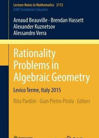Rationality Problems in Algebraic Geometry ( 7 Dec. 2016 )
