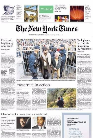 International New York Times – 7 January 2017