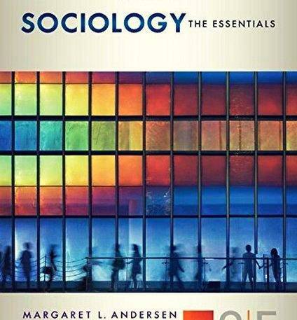Sociology: The Essentials, 9th Edition (2016)