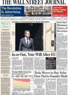 The Wall Street Journal – June 22, 2016