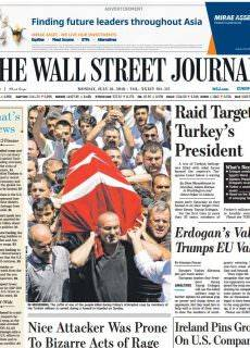 The Wall Street Journal Europe – July 18, 2016