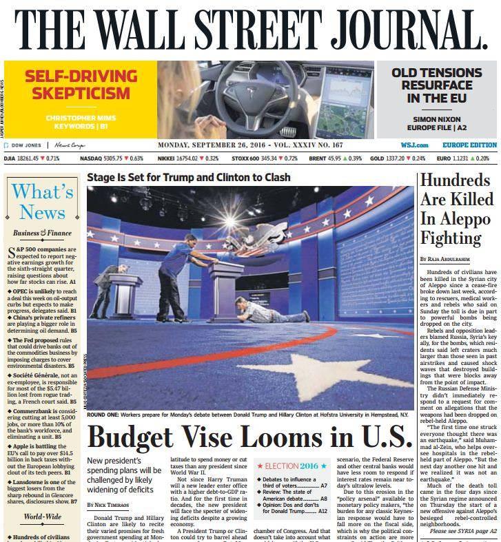 The Wall Street Journal Europe – September 26 2016