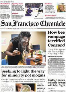 San Francisco Chronicle – May 16, 2016