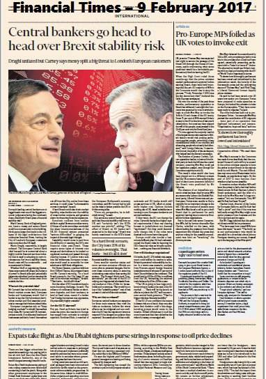 Financial Times Europe 9 February 2017