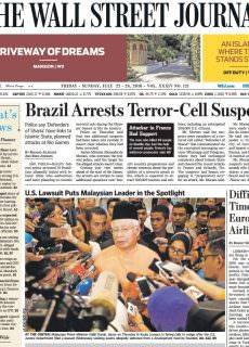 The Wall Street Journal Europe – July 22, 2016