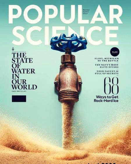 Popular Science USA March April 2017