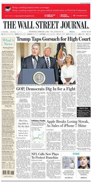 The Wall Street Journal February 1 2017