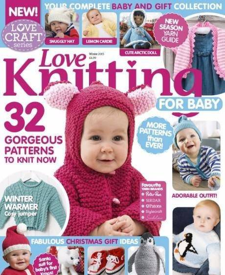 Knitting Crochet from Woman Weekly October 2016