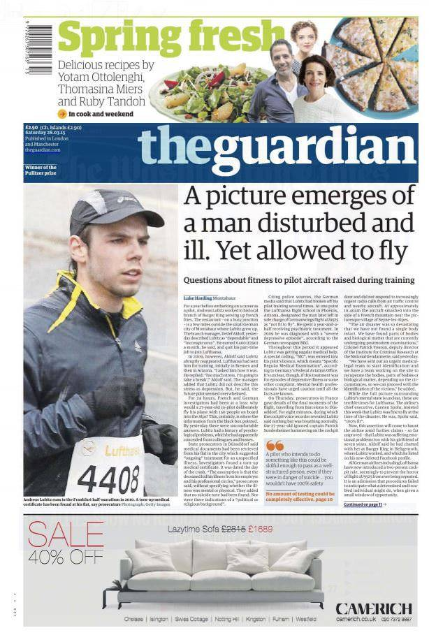 The Guardian UK – 28 March 2015