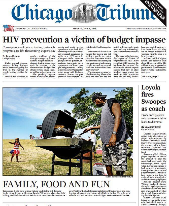 Chicago Tribune – July 04, 2016
