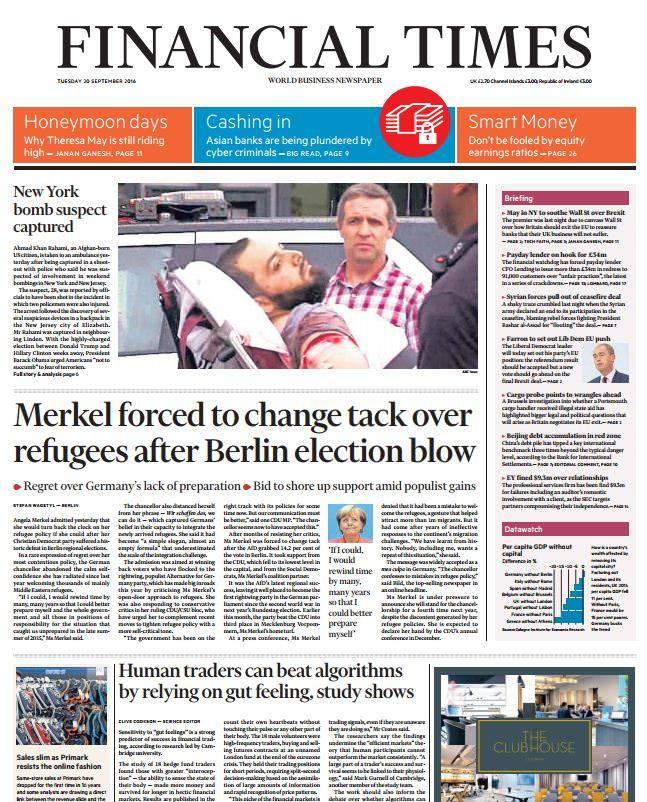 Financial Times UK – September 20, 2016