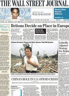 The Wall Street Journal Asia – June 24, 2016