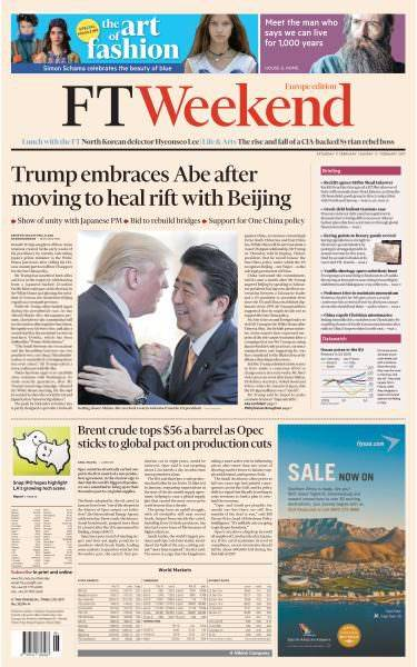 Financial Times Europe 11 February 2017